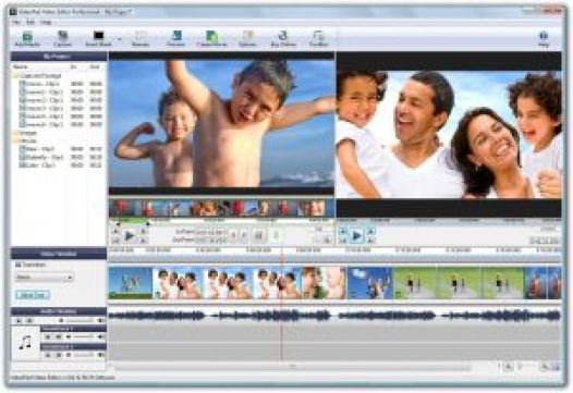 VideoPad Video Editor 5.11 Registration Code + Crack Free Download