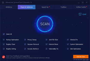 Advanced SystemCare Ultimate 11.2 Crack With Keygen Free Download