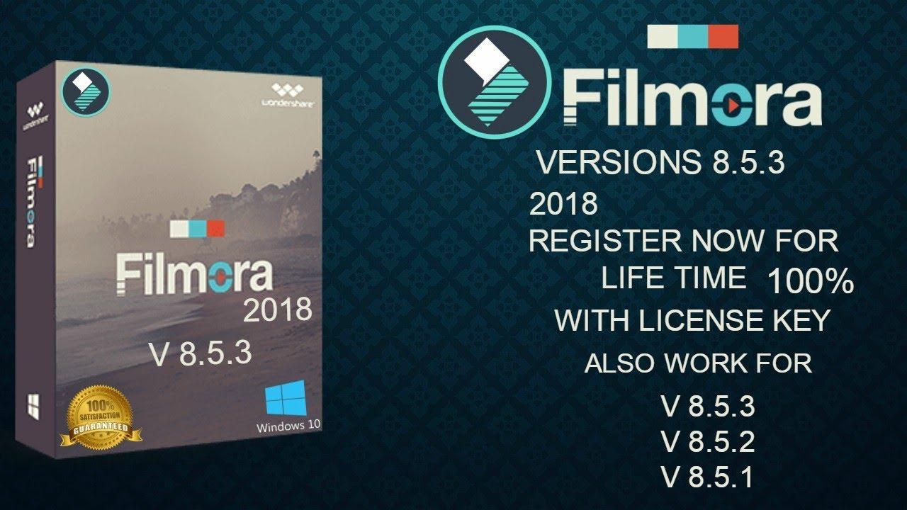 Wondershare Filmora v8.7.3.1 Crack With Product Key