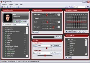 MorphVOX Pro 4.4.78 Build 23625 Crack Key Latest 100% Working FullFree