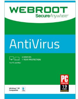 Webroot SecureAnywhere Antivirus 2019 Crack