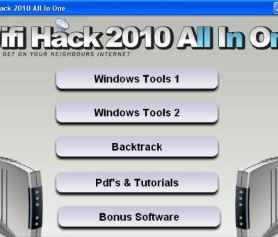 WiFi Hacking Software