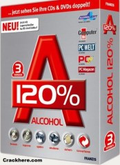 Alcohol 120% Crack + Keygen