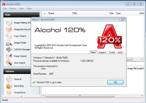 Alcohol 120% Keygen