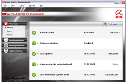 Avira Antivirus Pro License key
