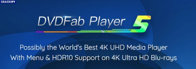 DVDFab Player Ultra 5.0.2.5 Crack Free Download