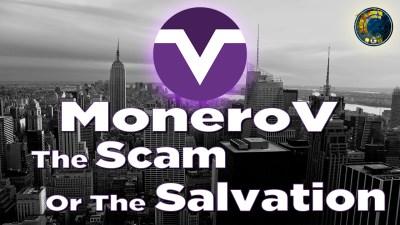 monerov logo and title text over city skyline