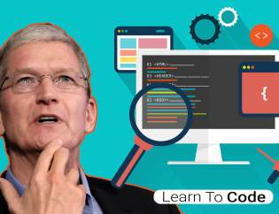 tim-cook-head-shot-apple-ceo-web-development-material-computer-with-code-graphic