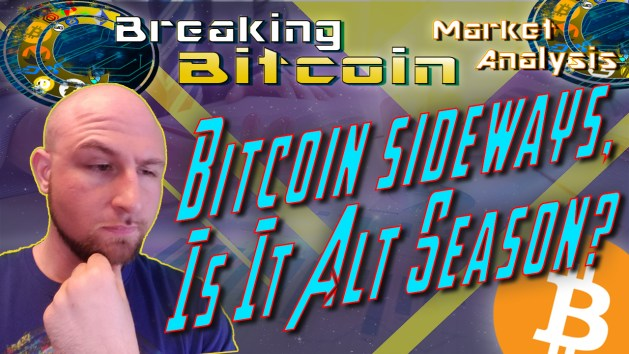 bitcoin sideways, is this alt season text thumb image with justin wise face to right of text