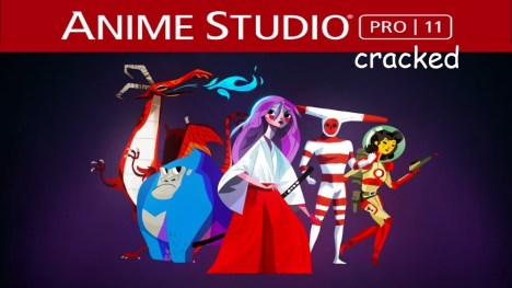 Anime Studio Pro 14 Crack