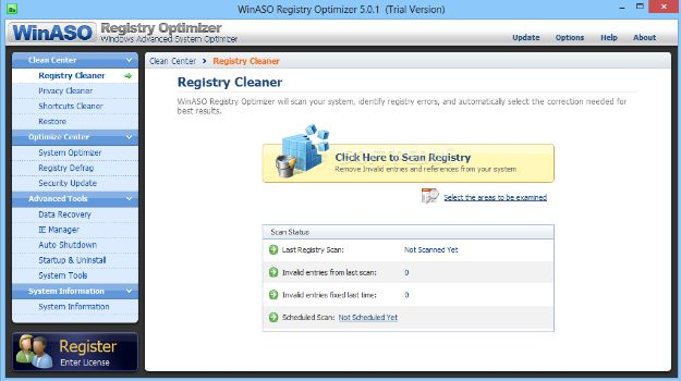 WinASO Registry Optimizer v5.6.1 Crack Full Keygen Free Download