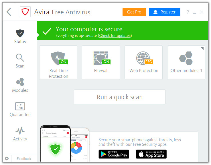 Avira Free Antivirus 15.0.45.1126 Keygen Full Version