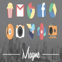 Magme - Icon Pack v1.3