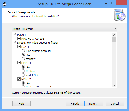k lite mega codec pack windows 10 x64