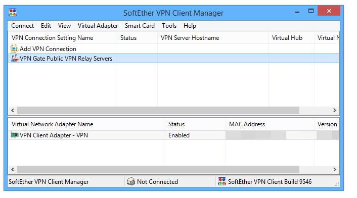 Softether Vpn Client Manager Connection Error - Best