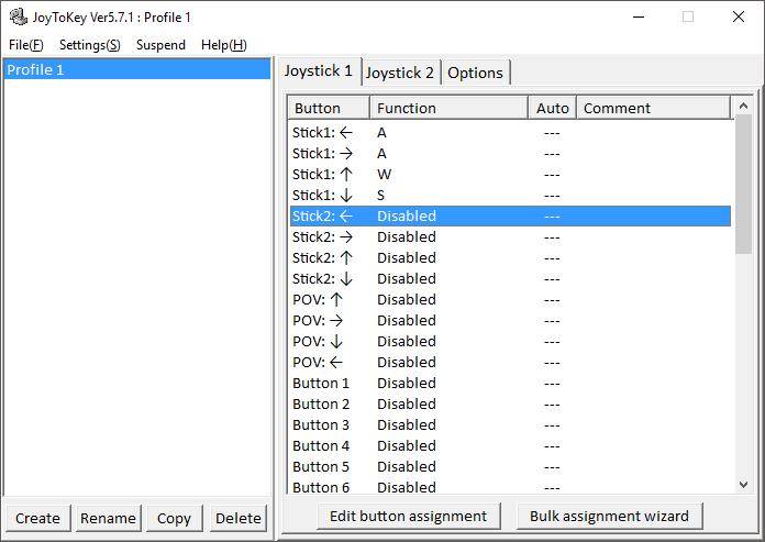 JoyToKey 6.0 beta