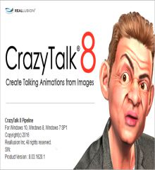 CrazyTalk Pipeline 8.1.2024.1 + Crack + Resource Pack [Win + Mac]