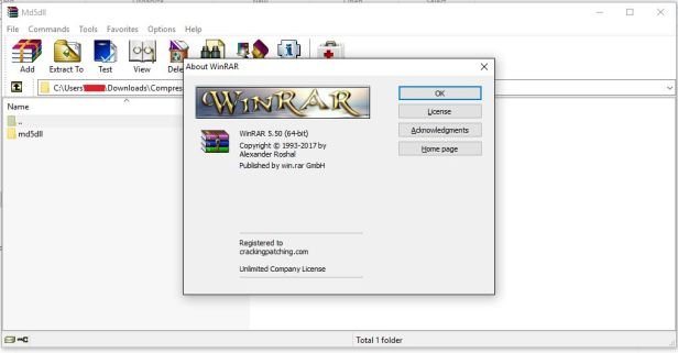 WinRAR 5.50 incl Universal Patch + Crack [Multi] [x84 + x64] - Technical Students Support ...