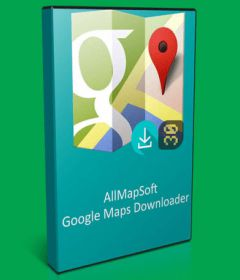 AllmapSoft Google Satellite Maps Downloader
