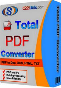 Coolutils Total PDF Converter serial number keygen patch