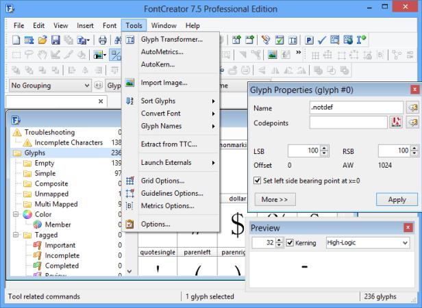 FontCreator Patch Pro serial key free download