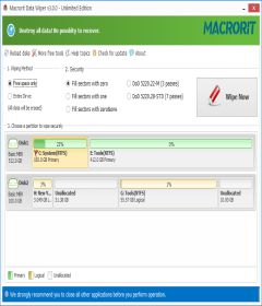 Macrorit Data Wiper 4.3.0 Unlimited Edition + Portable + keygen