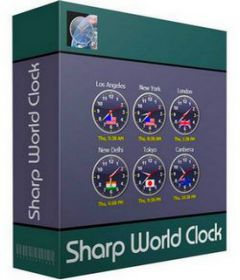 Sharp World Clock 8.4.4 + keygen