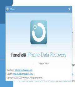FonePaw iPhone Data Recovery 5.6.0