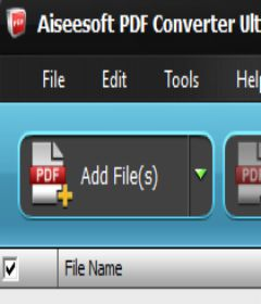 Aiseesoft PDF Converter Ultimate incl patch download