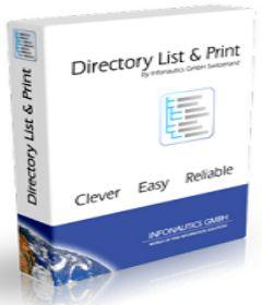 Directory List & Print Pro 3.54 + patch