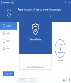 Glarysoft Malware Hunter 1.66.0.650 + key