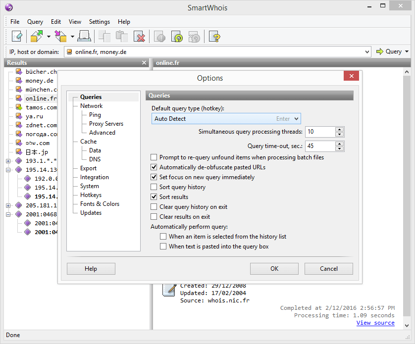 TamoSoft SmartWhois v5.1 Build 289