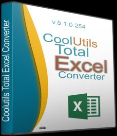Coolutils Total Excel Converter 5.1.0.266 + Portable + key