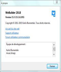 WeBuilder 2018 v15.4.0.206