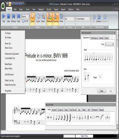 Forte Notation FORTE + key