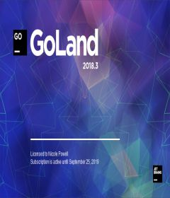 JetBrains GoLand 2018.3.5