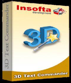 Insofta 3D Text Commander 6.0