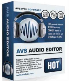 AVS Audio Editor 9.0.3.534 + patch