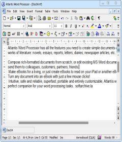 Atlantis Word Processor 3.2.13.3 Final + keygen