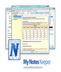 My Notes Keeper 3.9.2 Build 2092 + key