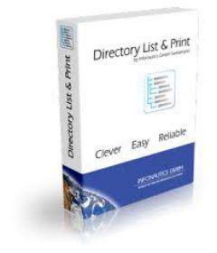 Directory List & Print Pro 3.64
