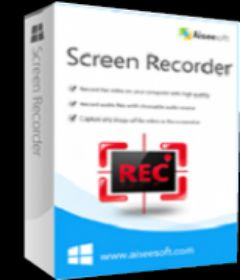 Aiseesoft Screen Recorder 2.1.56 + patch