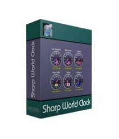 Sharp World Clock 9.0.8 incl keygen [CrackingPatching]