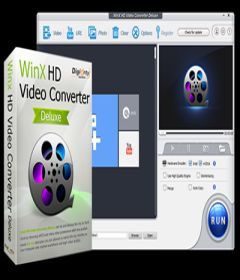 WinX HD Video Converter Deluxe 5.15.2 + key
