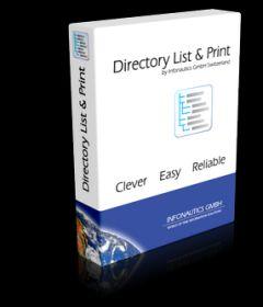 Directory List & Print Pro 3.67 + patch