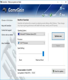 GameGain 4.9.16.2019 + patch