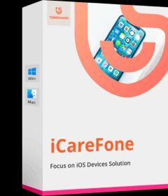 Tenorshare iCareFone 5.8.1.4 + key