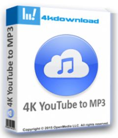 4K YouTube to MP3 3.10.1.3255 + x64 + patch