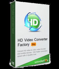 WonderFox HD Video Converter Factory Pro 18.6 + keygen