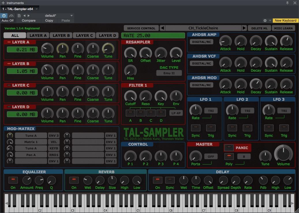 Togu Audio Line TAL-Dub-X v1.7.0 incl keygen [CrackingPatching]